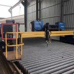 màquina de tall automatitzada de plasma cnc doble conducció de 4 m de barana de 15 m