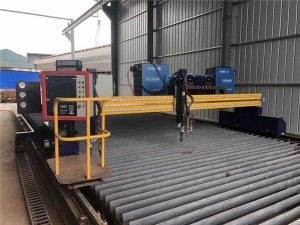 Màquina de tall automatitzada de plasma CNC de dos voltes de 15m de conducció de 4m