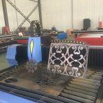 talladora automàtica de canonades de llum / màquina de tall de perfil de canonada cnc / talladora de plasma canonada de llum