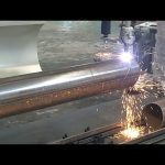 Màquina de tall d'acer de tub de plasma de flaix de 3 eixos CNC