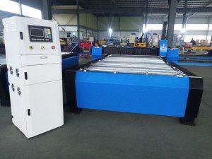 Xina cnc màquina de tall de plasma hiper 125a gruix de xapa 65a 85a 200a opcional jbt-1530