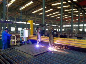 Gantry CNC de tall de plasma i màquina de tall de flames per a placa d'acer