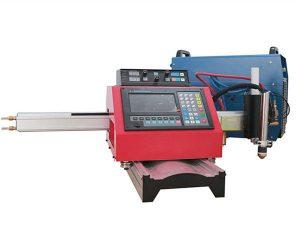 Màquina portàtil de tall de plasma CNC i màquina de tall automàtica de gas amb via d'acer