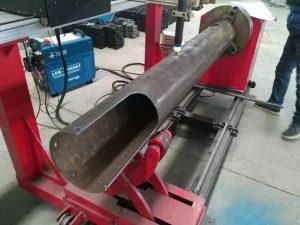 Màquina de tall de plasma de CNC de baix cost per eix giratori