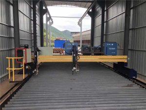 màquina de tall de xapa de xapa de plasma de cnc de mida 1500x3000mm