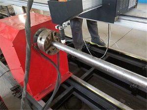 màquina de tall de plasma de flama de tub cnc