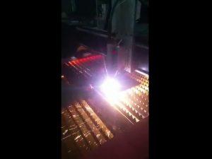 màquina de tall de plasma cnc industrial que subministra energia de plasma d'alta qualitat