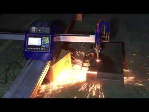 Tall de mini cost portàtil de màquina de tall de plasma de flama de tub cnc de baix cost per tallar acer inoxidable de metall