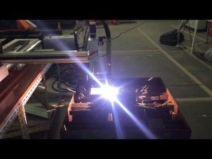 màquina portàtil de tall de plasma de gas cnc de baix cost