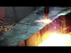 màquina de tall de plasma portàtil de CNC