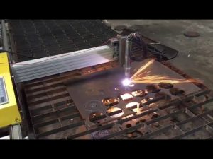 màquina de tall portàtil de flama de cnc portàtil amb hiperterm 45